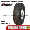 Qingdao 10 Inch-pneumatisches Gummirad 410/350-4