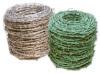 PVC alambre de púas revestido