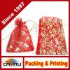 Cotone del regalo/sacco impaccanti della tela di canapa (9117)