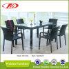 柳細工の家具、ダイニングテーブル及び椅子(DH-6122)