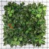 Herbe artificielle de LIERRE de barrière de jardin d'usines de jardin décoratif pour le mur