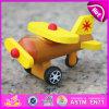 Avião de madeira para o bebê, avião de madeira novo do brinquedo 2015 do brinquedo dos miúdos, madeira para crianças, brinquedo plano de madeira de voo W04A199 do brinquedo do avião
