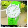Het Horloge van Genève van het silicone, de Polshorloges van de Gelei, de Vervaardiging van het Horloge van China (gelijkstroom-249)
