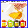 多彩なCustomized Logo 350ml Hot Selling Glass Oil Pot (EP-LK57276)
