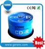 Preço por atacado de venda quente dos CD-R fábrica de 52X 700MB 80min