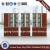Armário de lima moderno da melamina com portas de vidro (HX-GA0016)