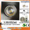 5W COB GU10 LED Down Light con Spot Lamp