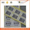 Etiqueta engomada transparente impresa de la escritura de la etiqueta de PVC/Paper del código de barras auto-adhesivo de la impresión