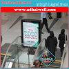 ライトボックスの印を広告するショッピングモールMupi LED