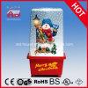Décoration mignonne de maison de cadeau de Noël de Polyresin de bonhomme de neige