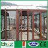 As2047 de StandaardDeur van de Gordijnstof van de Legering van het Aluminium met Aangemaakt Glas