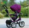 Passeggiatore superiore Tricycle (armatura di Baby della sedia di Flexible)