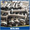 Le métal flexible d'acier inoxydable compliqué/a ridé le tuyau tressé par 304