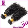 方法アフリカのねじれた巻き毛のインドのRemyの毛の織り方