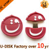 mini Round Custom Company 로고 USB 섬광 드라이브 (YT 카타르)