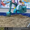 Het mechanische Graafwerktuig van het Pretpark voor Jong geitje