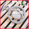 Base-ball personnalisé par qualité annonçant le mini trousseau de clés en métal de cadeaux promotionnels