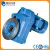 Caja de engranajes de la serie mate del gris F/motor con engranajes helicoidal/caja engranada del motor/de engranajes