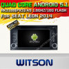 Witson Android 5.1 GPS de carro para Seat Leon 2014 (A5570)