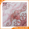Azulejos de suelo de cerámica esmaltados de la inyección de tinta del material de construcción con el modelo rojo