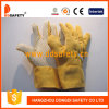Het Tuinieren van Ddsaefty 2017 Handschoenen met Gele Punten op Palm