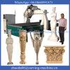 Máquina de talla de madera del CNC 3D 4axis con el eje rotatorio (JCT1530L)