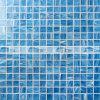 20X20mm het Blauwe Mozaïek van het Glas voor de Tegel van het Zwembad (BGE601)