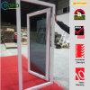 UPVCによって二重ガラスをはめられるフランスの開き窓のドア