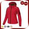 Куртка Softshell красного цвета женщин водоустойчивая Breathable