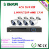 Neues 4CH Ahd DVR Kit 960p/720p