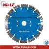 105mm T-Typ segmentierte Diamant-Kreisschaufel für Beton