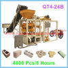 Semi-automatique Vibration Pavement Brick Machine, Paver Shaping Machine