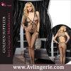 Fishnet Backless sans manche sexy Bodystocking (KS14-109) de fourche de femmes