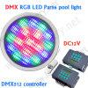 Luz subaquática do diodo emissor de luz de DMX RGB, baixa tensão de 12W DC/AC12V, RGB Warmwhite/branco/Neturalwhite IP68 impermeável