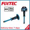 Твердость кузнечное зубило для рубки в холодном состоянии 65c Fixtec плоская: Ручные резцы HRC55-60