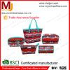 Хозяйственная сумка 2015 складная Big Container Printed Canvas Beach, Big Size Foldable Beach Travel Bags с Zipper