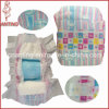 Cloth-Like Baby Diaper with Elastic Waist Magic Tapes