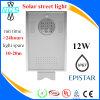Luz de calle solar de China LED toda en una, lámpara al aire libre