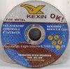 Disco para corte de metales abrasivo de Kexin de la alta calidad para el metal