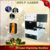 Machine de gravure de laser en cristal du cadeau 3D de Noël