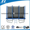 6ft x 9ft Rectangular Trampoline con Enclosure