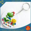 선물을%s 고품질 공장 가격 중국에 의하여 주문을 받아서 만들어지는 로고 3D 연약한 PVC 열쇠 고리 또는 반지