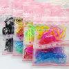 Os miúdos formam a TPU de alta elasticidade colorido Hairbands elástico de borracha (JE1587)