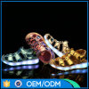 Уникально цветов USB перезаряжаемые 7 освещают вверх ягнятся ботинки сандалий СИД