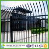 Puder-überzogener Stangen-Oberseite-Metallstahl-Zaun