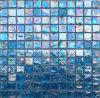 azzurro di vetro delle mattonelle di mosaico della piscina di 23*23*8mm (TR12)