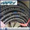 Boyau en caoutchouc hydraulique renforcé industriel du fil d'acier R2 de SAE 100