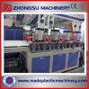 Ligne de production d'extrusion de plaque de mousse de PVC en peau de mousse / Machine d'extrusion en plastique