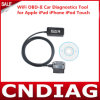 2014 hete Sale WiFi OBD-II Car Diagnostics Tool voor Apple iPad iPhone iPod Touch