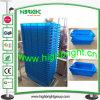 Cassa logistica di plastica del nido e della pila